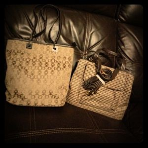 2 like new bags possibly new for one low price